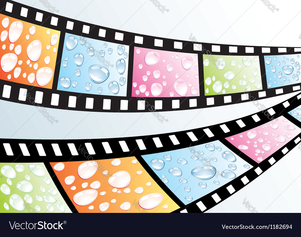 A film strip vector | Price: 1 Credit (USD $1)