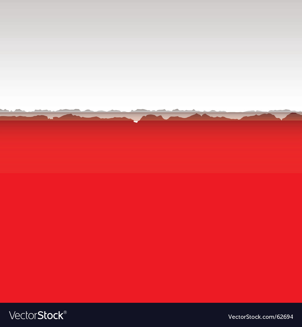 Red page tear vector | Price: 1 Credit (USD $1)