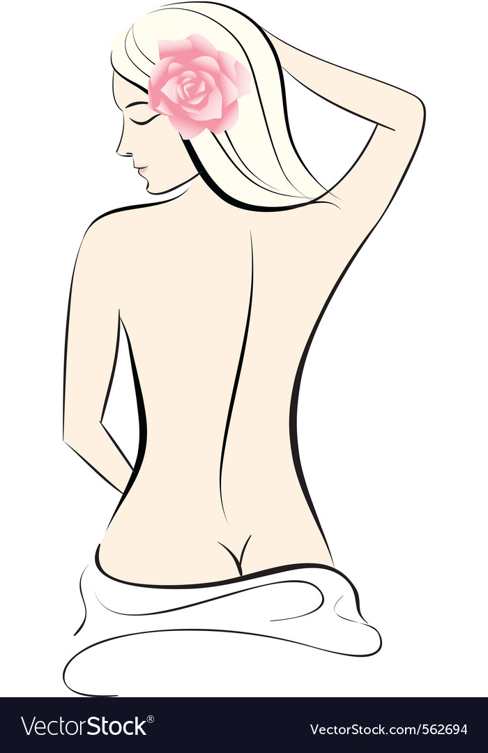 Woman body vector | Price: 1 Credit (USD $1)