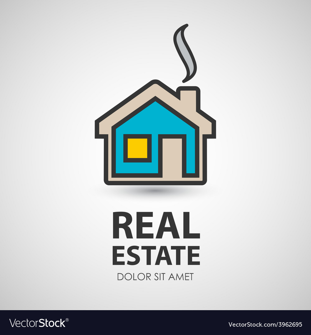 House icon real estate vector | Price: 1 Credit (USD $1)