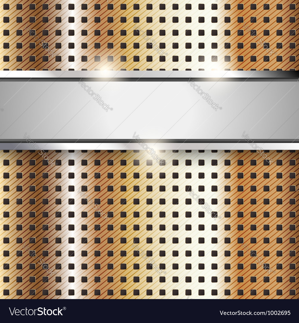 Metal surface copper iron texture background vector | Price: 1 Credit (USD $1)