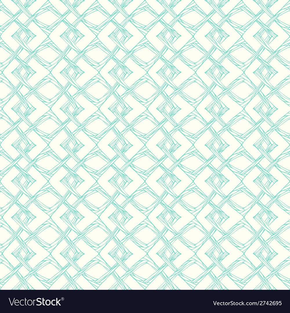 Seamless pattern with abstract squares geometric vector | Price: 1 Credit (USD $1)