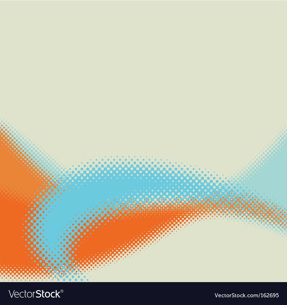 Stylish halftone background vector | Price: 1 Credit (USD $1)