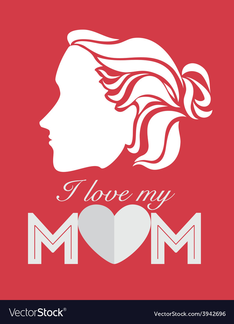 Mother day design vector | Price: 1 Credit (USD $1)