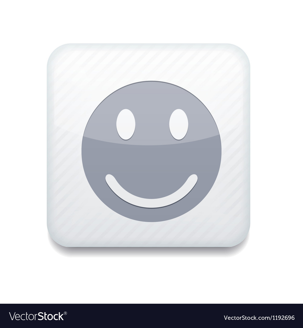 White smile icon eps10 easy to edit vector | Price: 1 Credit (USD $1)