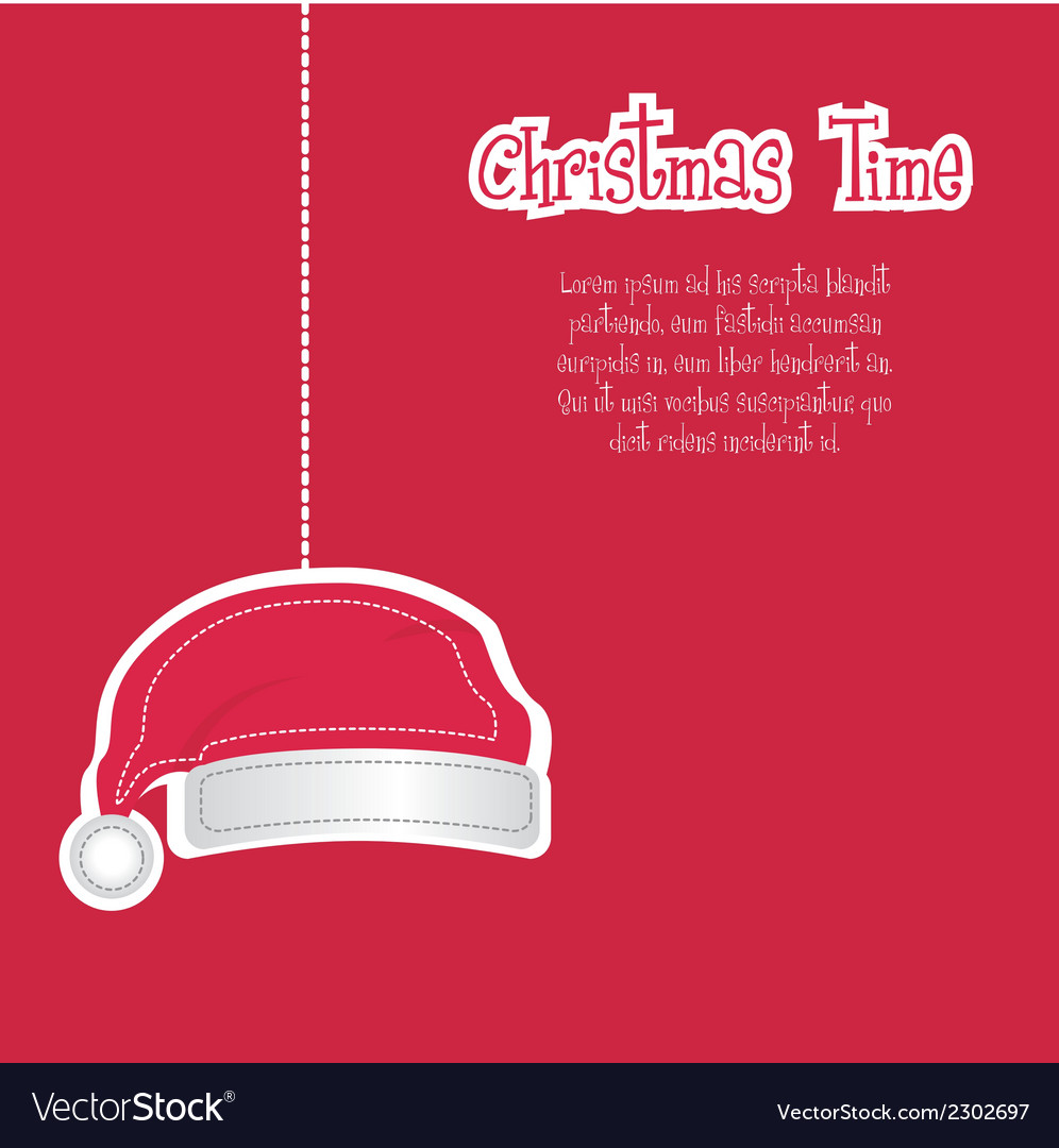 Christmas time vector | Price: 1 Credit (USD $1)