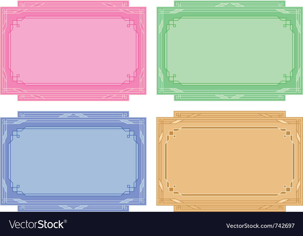 Color labels tags cards set vector | Price: 1 Credit (USD $1)