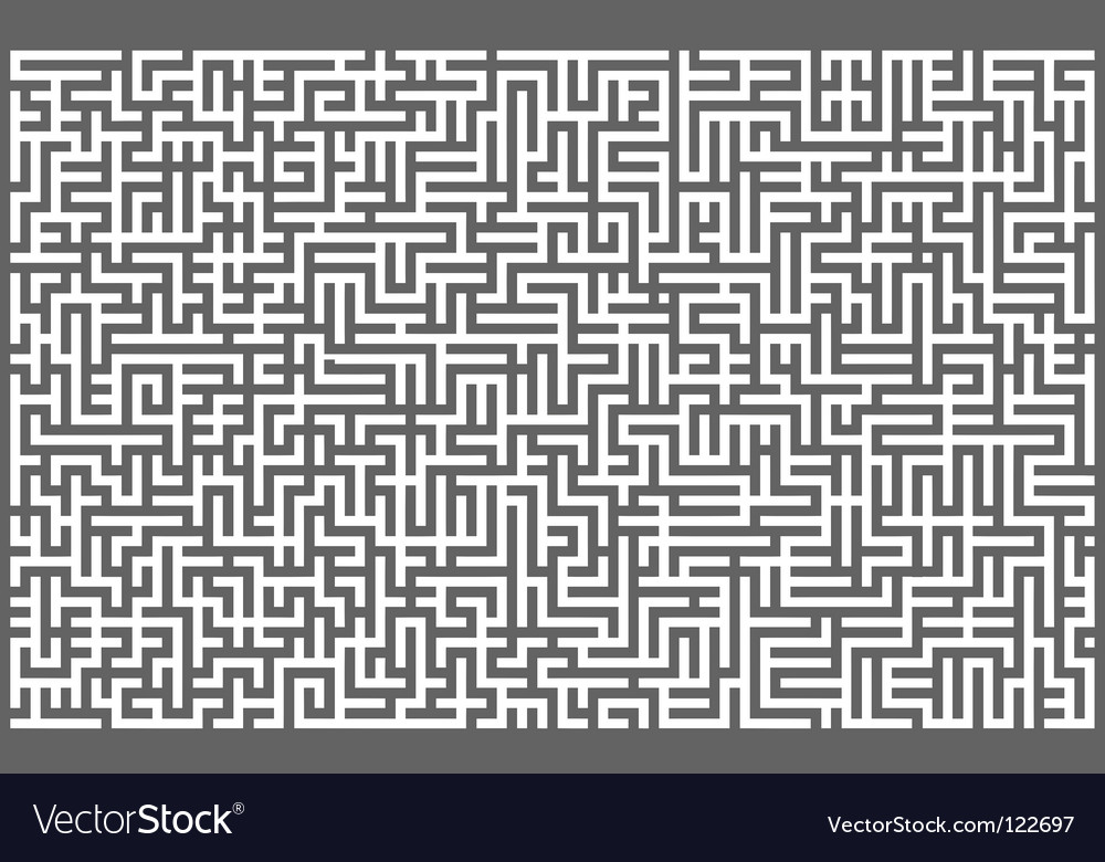 Maze background vector | Price: 1 Credit (USD $1)