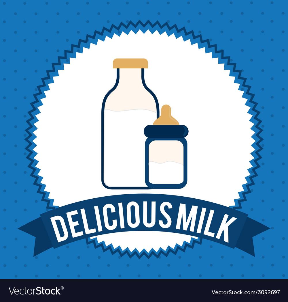 Milk design vector | Price: 1 Credit (USD $1)
