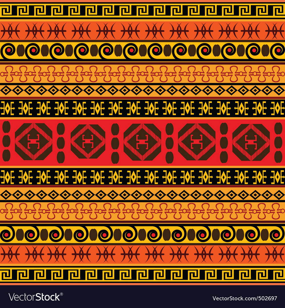 Traditional african pattern vector | Price: 1 Credit (USD $1)