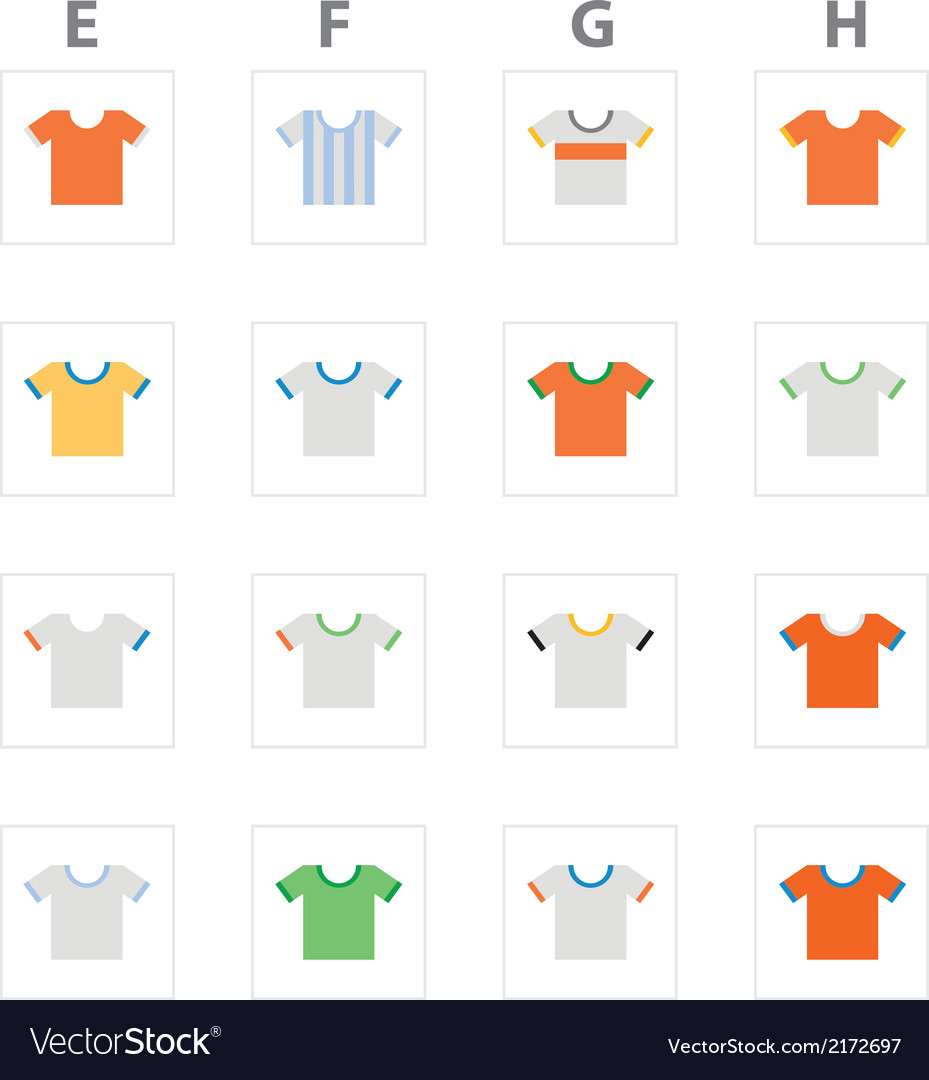 Worldcupkits efgh vector | Price: 1 Credit (USD $1)