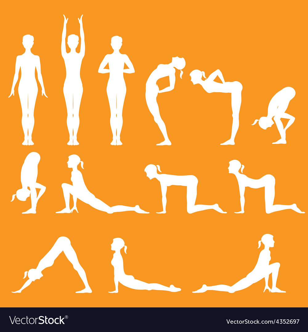 Yoga pose vector | Price: 1 Credit (USD $1)