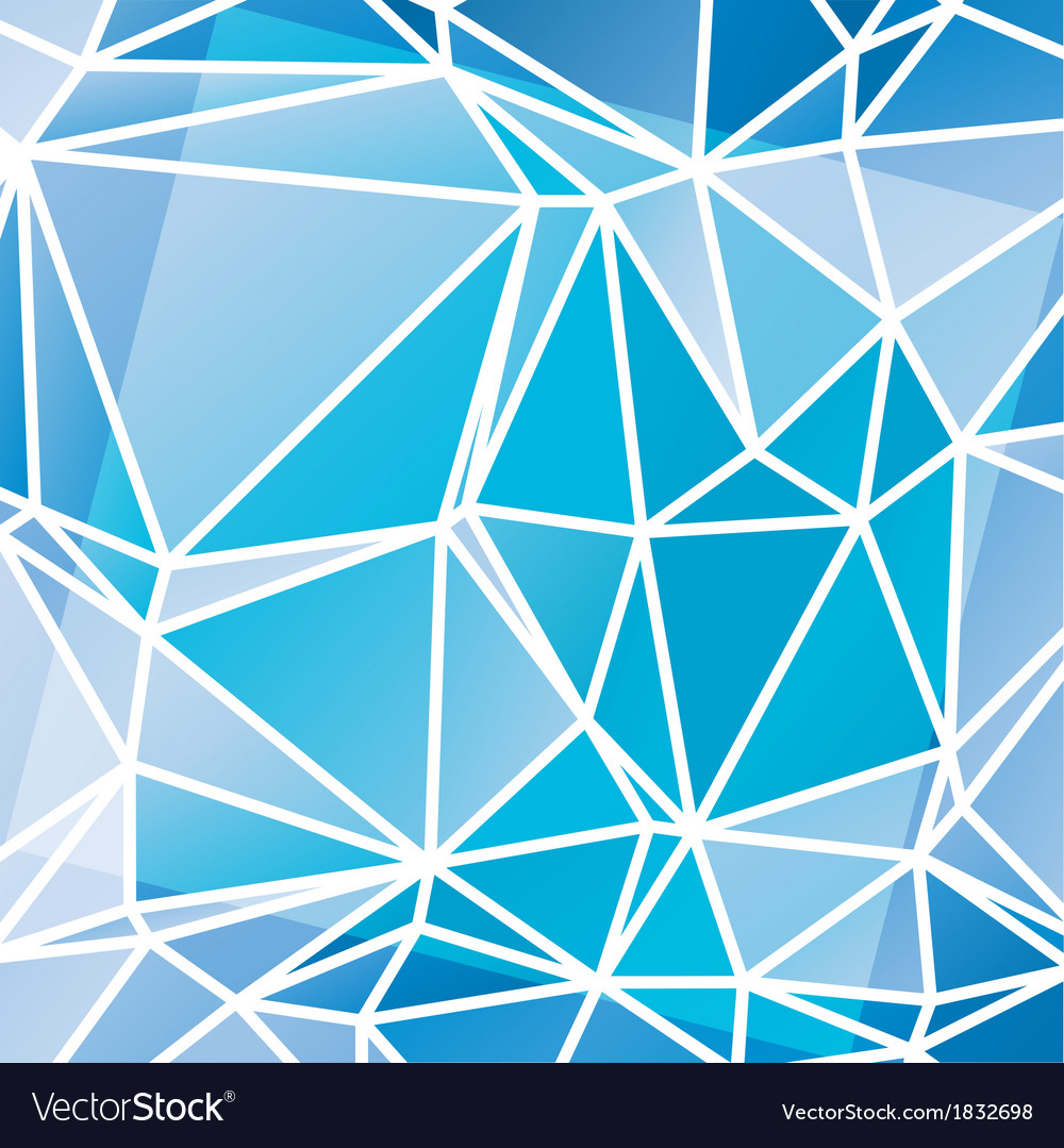 Abstract triangular mosaic pattern vector | Price: 1 Credit (USD $1)