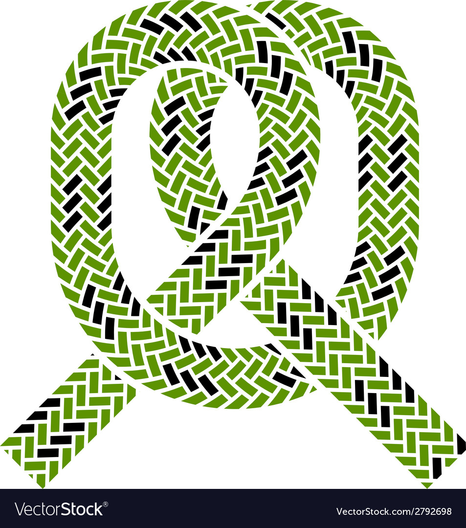 Climbing rope knot symbol vector | Price: 1 Credit (USD $1)
