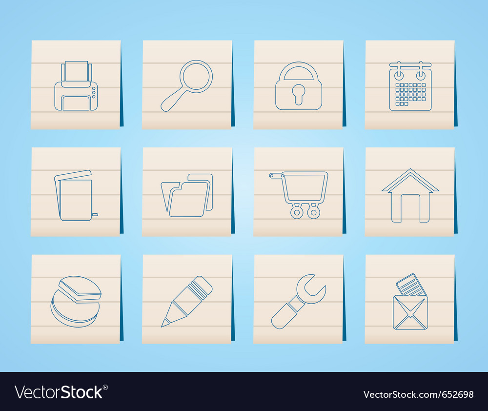 Website and computer icons vector | Price: 1 Credit (USD $1)