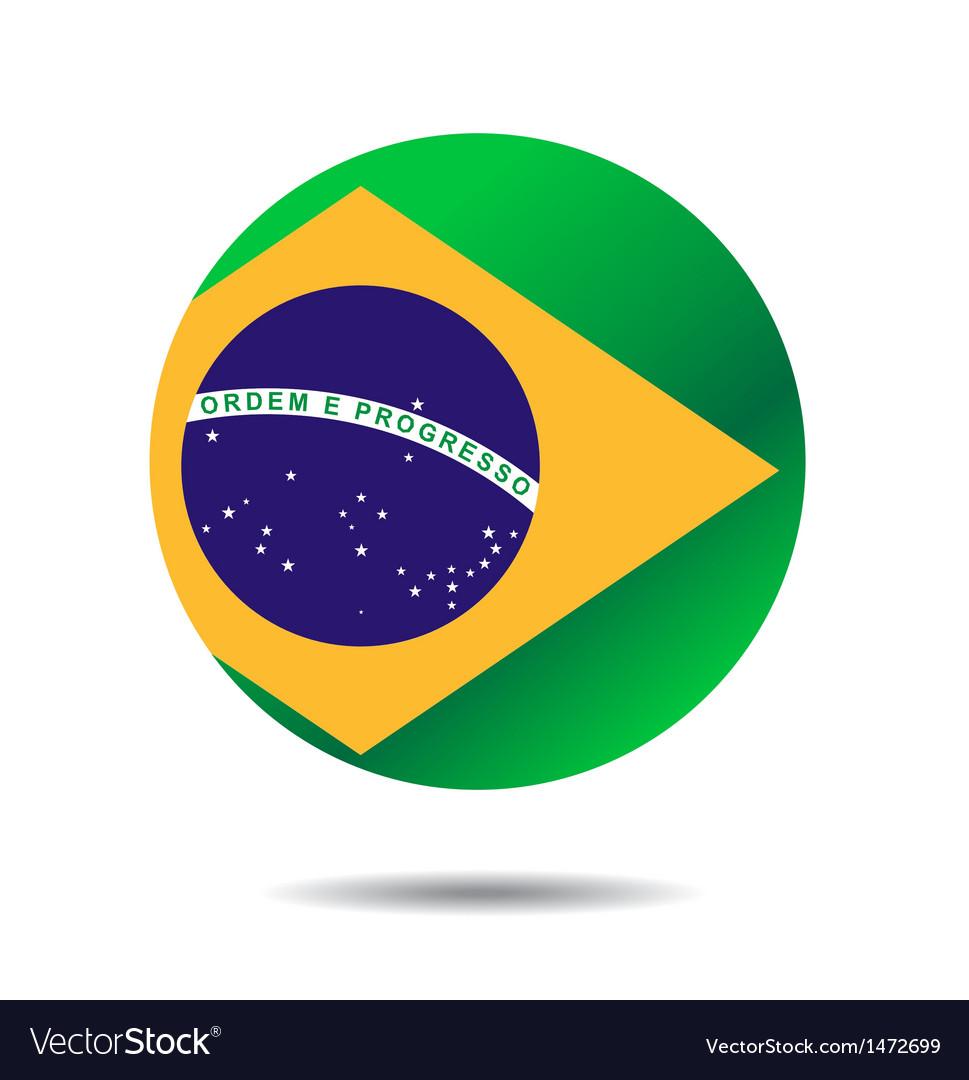 Flag icon button vector | Price: 1 Credit (USD $1)