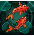 The fishes vector