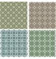 Big vintage plaid patterns set background vector