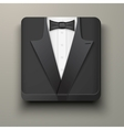 Premium icon tuxedo and bow-tie vector