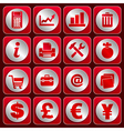 Icon set 4 vector