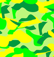 Seamless pattern of camouflage in bright colors vector