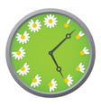 Daisy clock vector