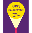 Flashlight halloween vector