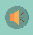 Loudspeaker volume icon sound icon vector