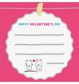 Romantic card38 vector