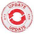 Update grunge rubber stamp vector