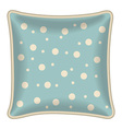 Decorative pillow vector
