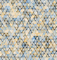 Abstract triangular seamless pattern vector