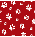 Dog footprints vector