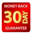 30 days money back guarantee vector