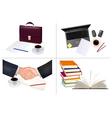 Mega set of office backgrounds vector