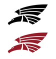 Attacking eagle for tattoo design vector