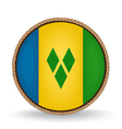 Saint vincent and the grenadines seal vector