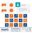 E-commerce web design elements extra set 4 vector