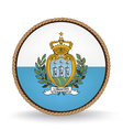 San marino seal vector