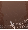 Grunge musical background backdrop image vector