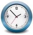 Blue clock vector