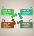 Infographics elements 1 vector