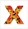 X letter vector