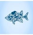 Fish an animal vector