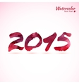 Calligraphy 2015 sign vector