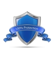 100 percent protection shield vector