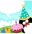 Birthday message vector