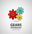 Gears icon business creative icon vector