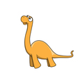 Apatosaurus cartoon vector