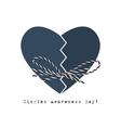 Singles awareness day greeting card vector